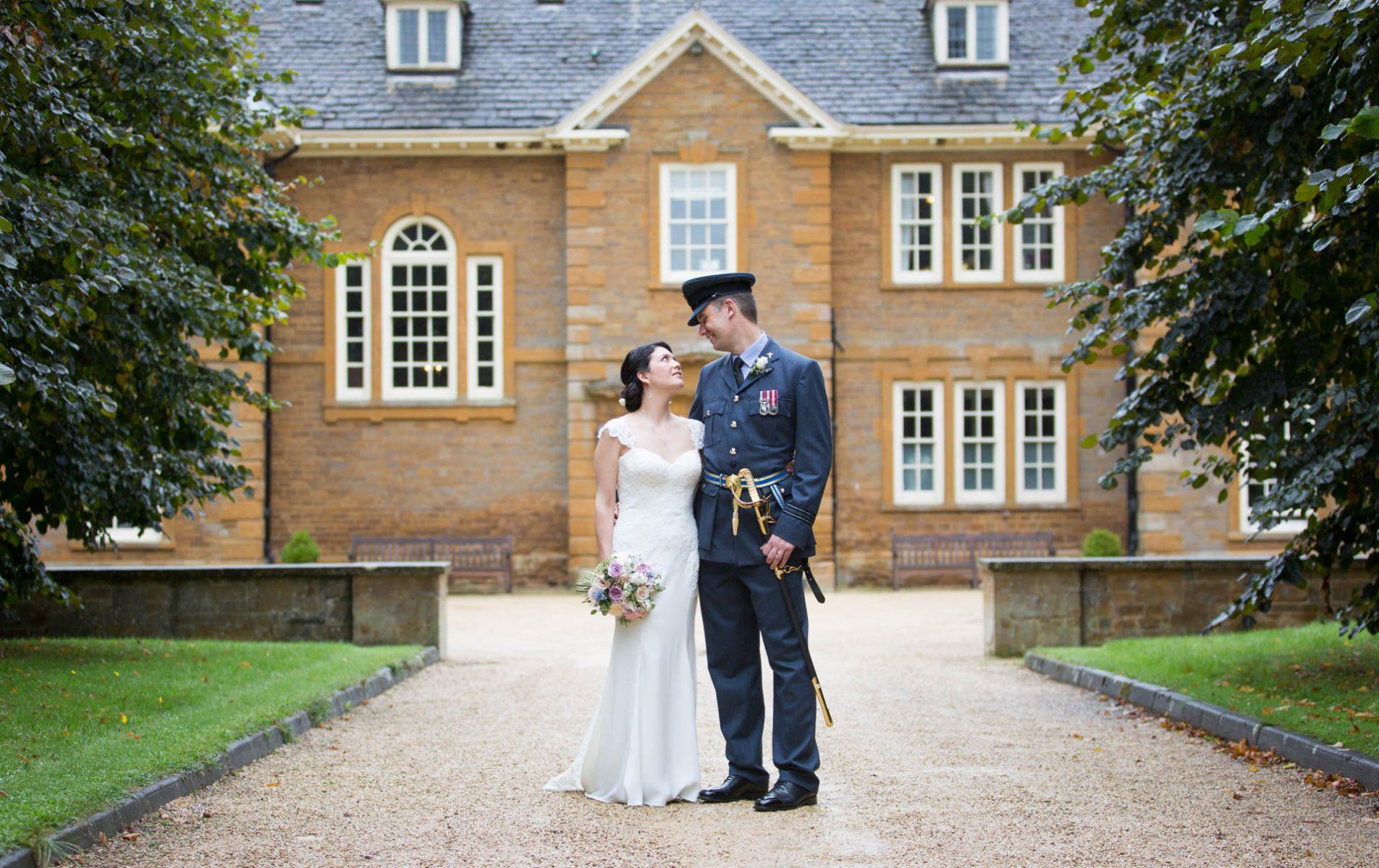 Poundon House RAF Wedding - Maylin and Oliver