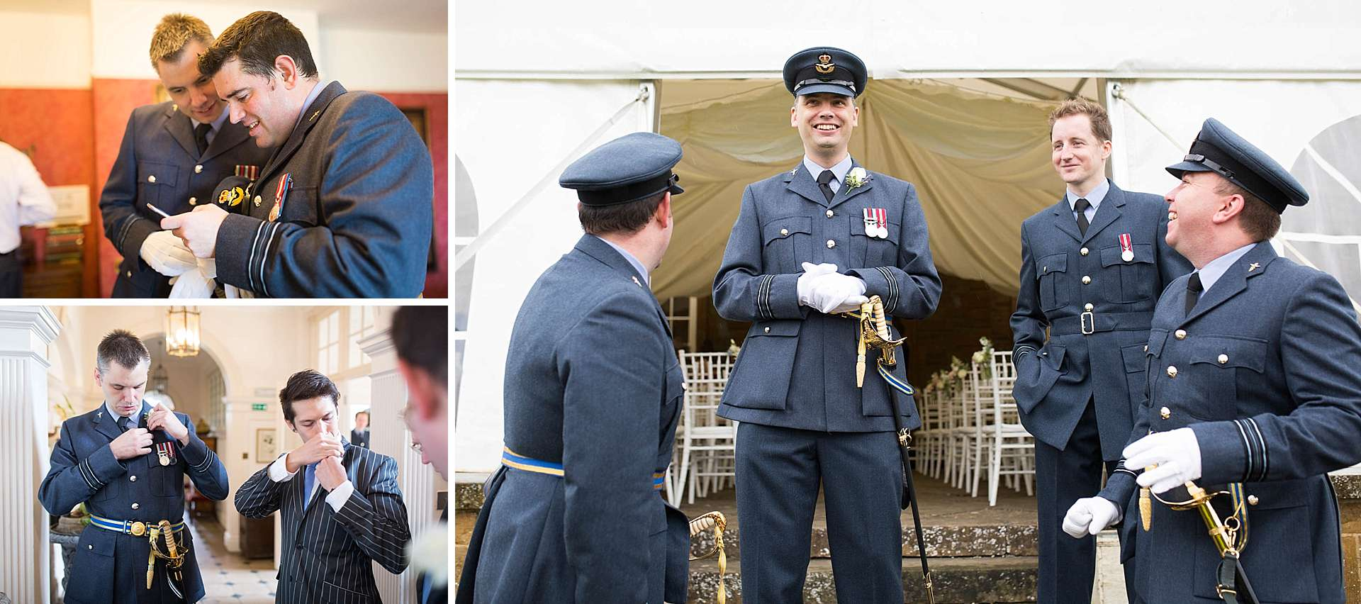 Poundon House RAF wedding