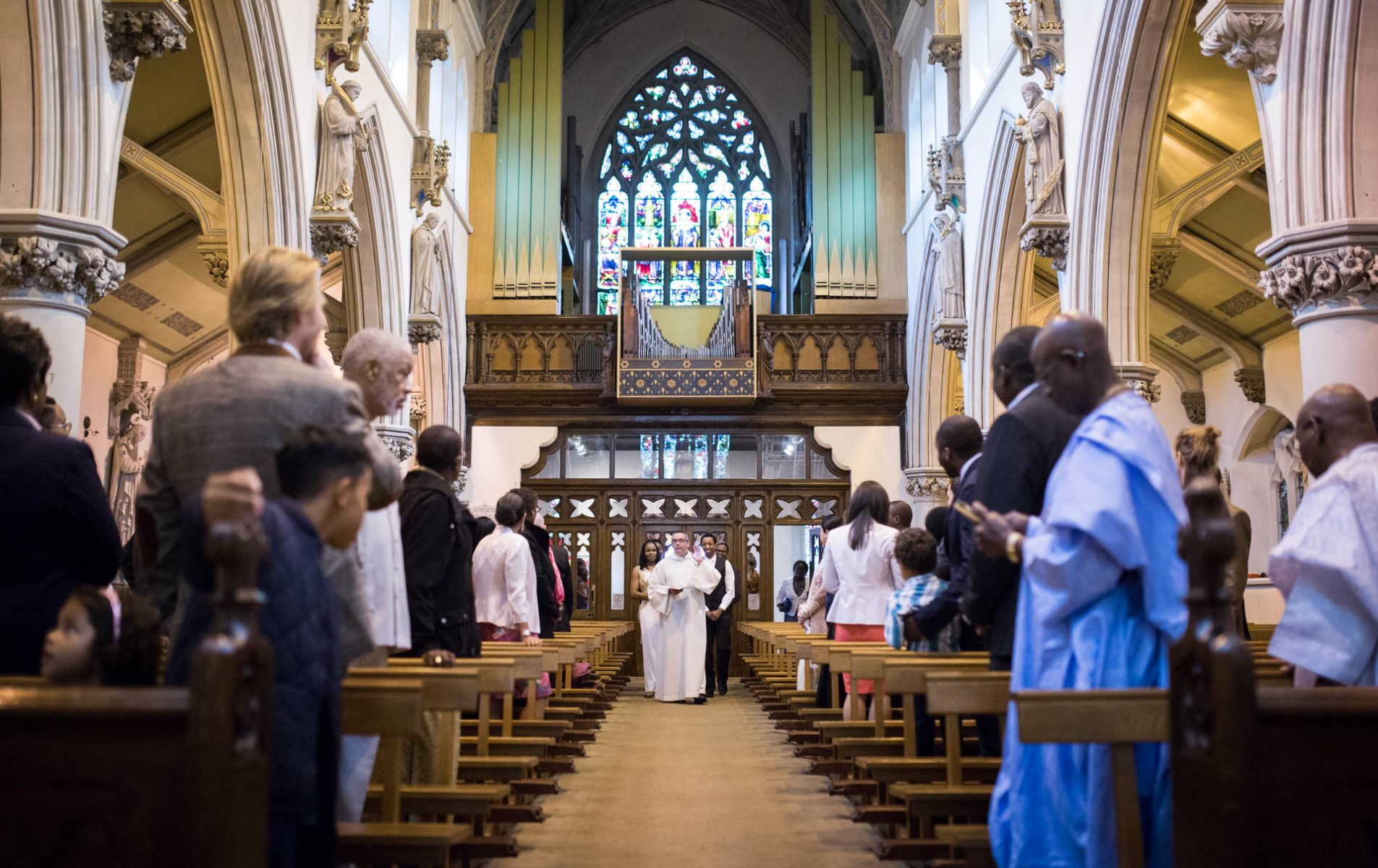 Eli's London Christening