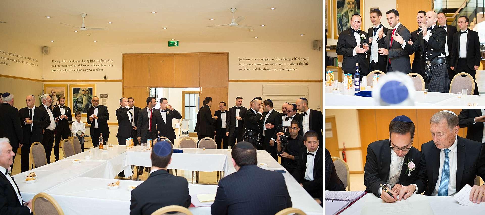 London Jewish Wedding - Tisch