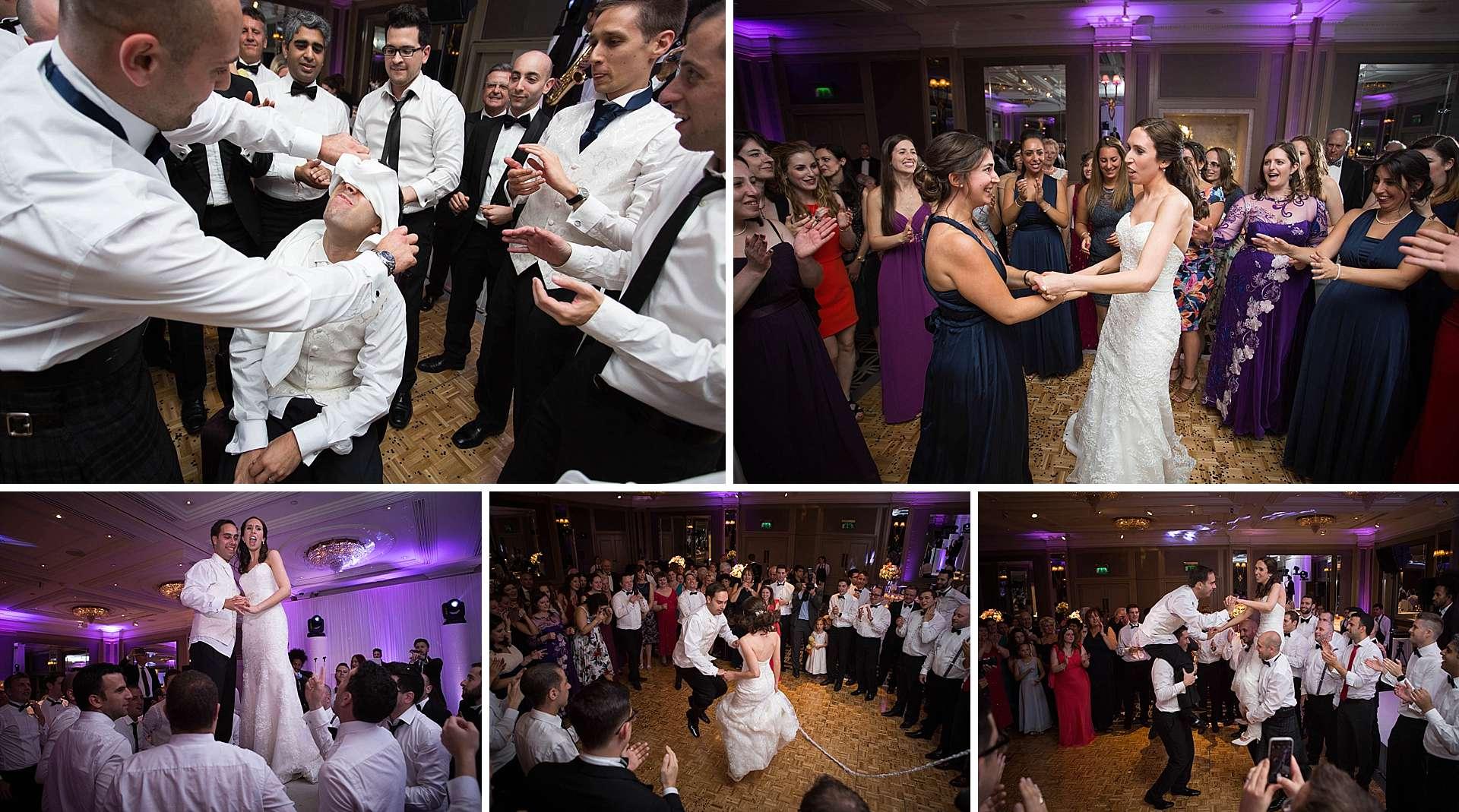 Israeli wedding dancing