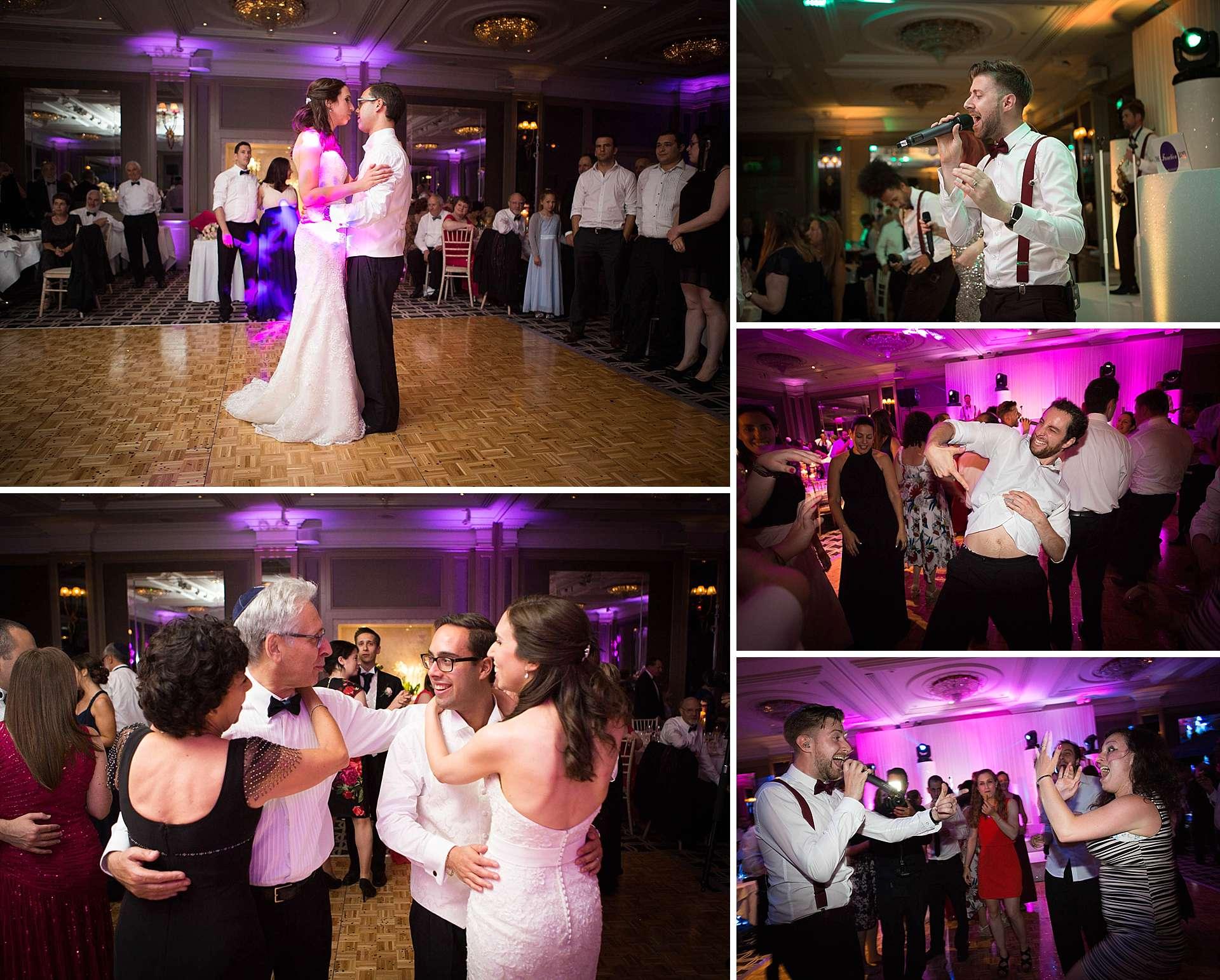 Wedding reception at London Regency Hyatt