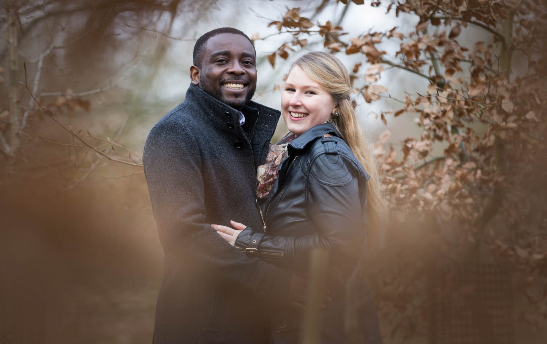 Jenny and Sam's Virginia Water Engagement Shoot