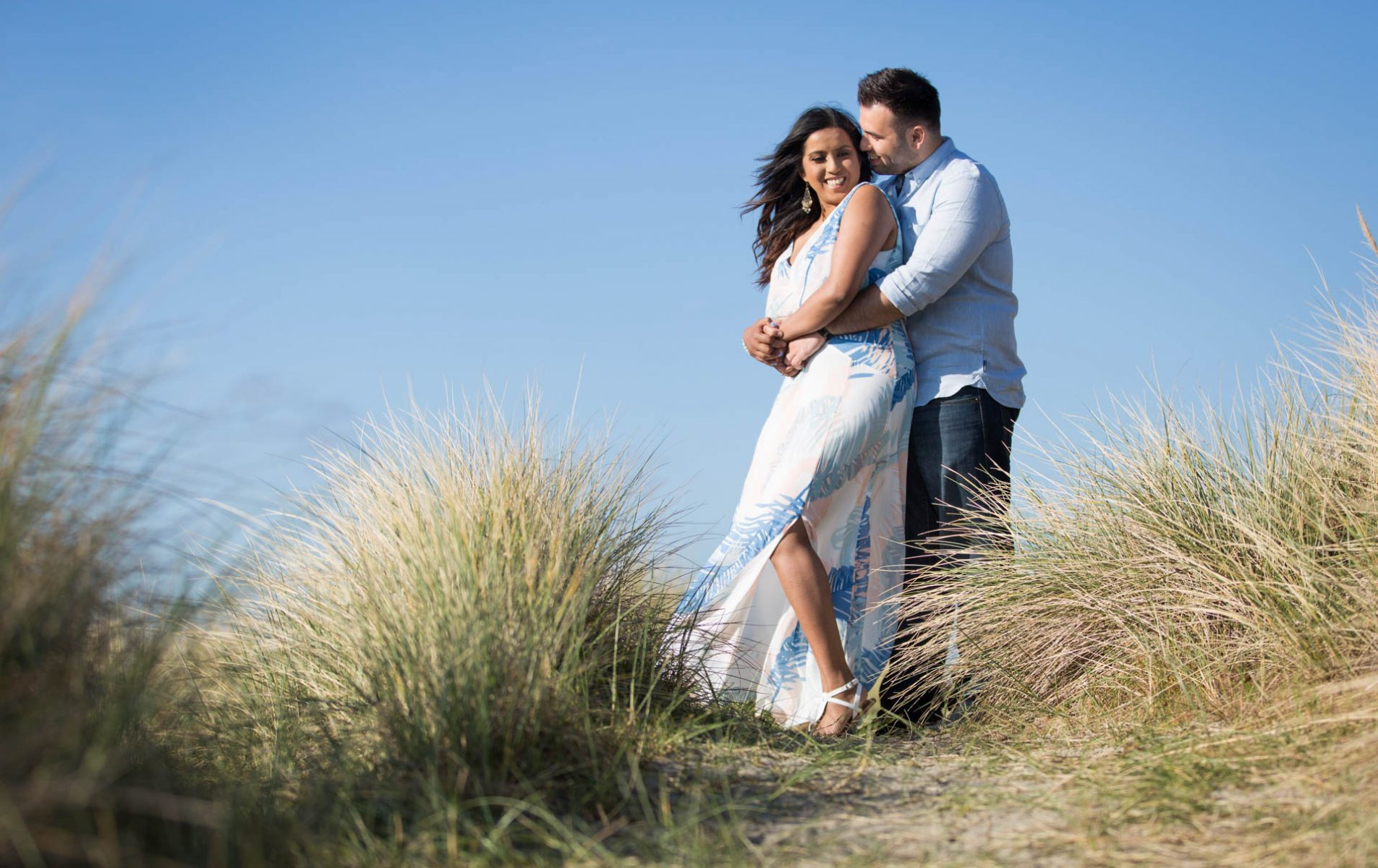 West Wittering Engagement Shoot - Niroosha and Matthew