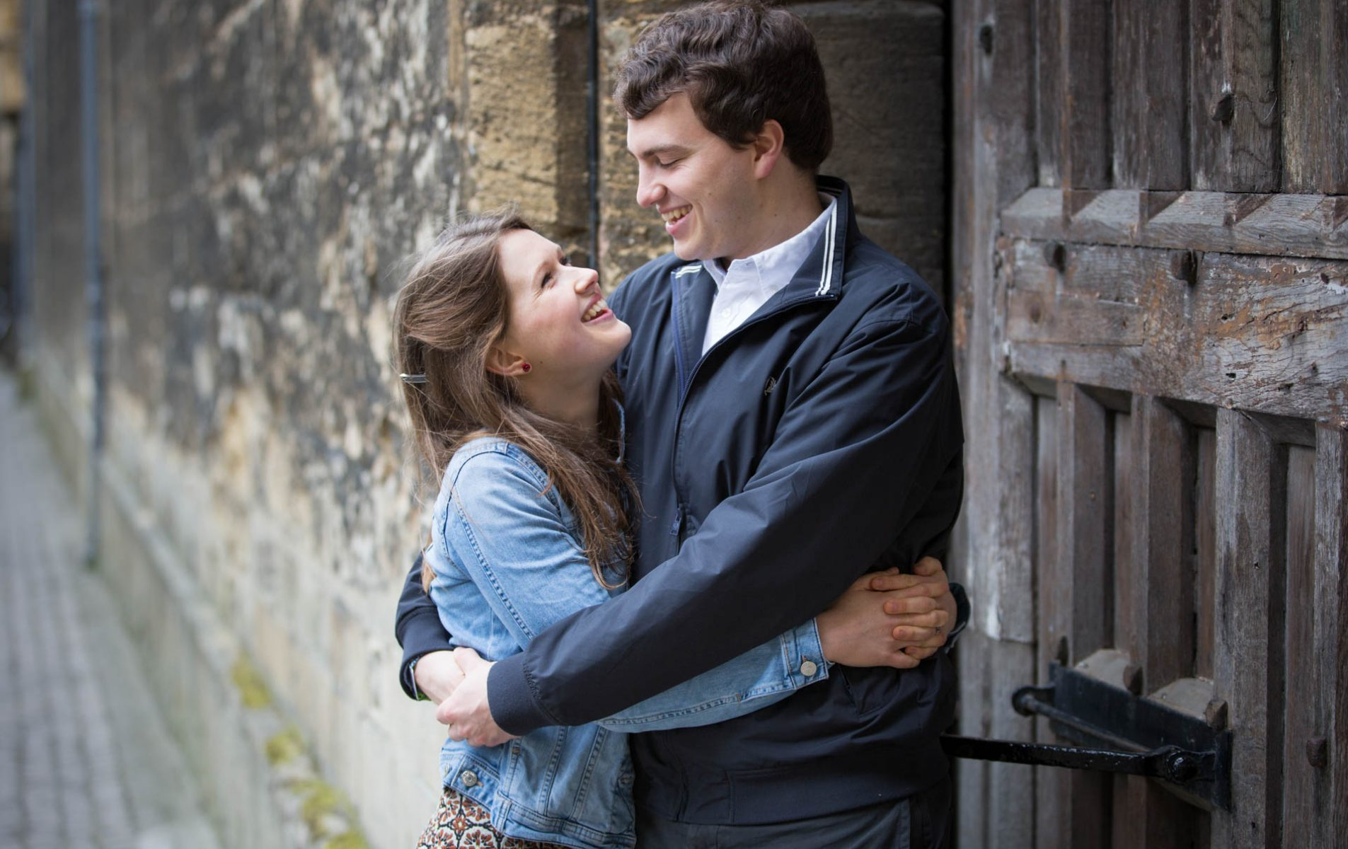 Oxford Engagement Shoot - Charlotte and Pete