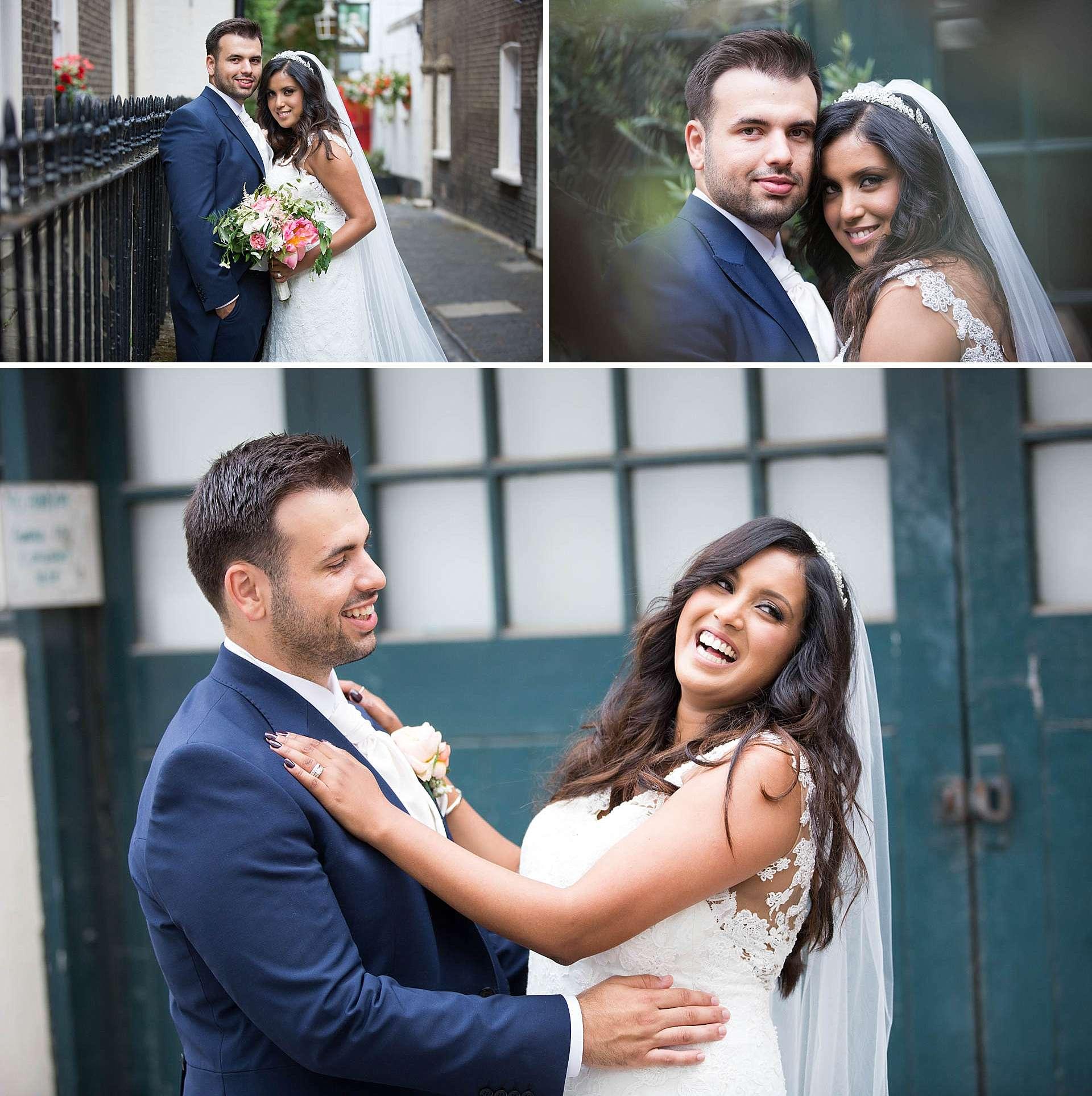 Wedding portraits at The Berkeley