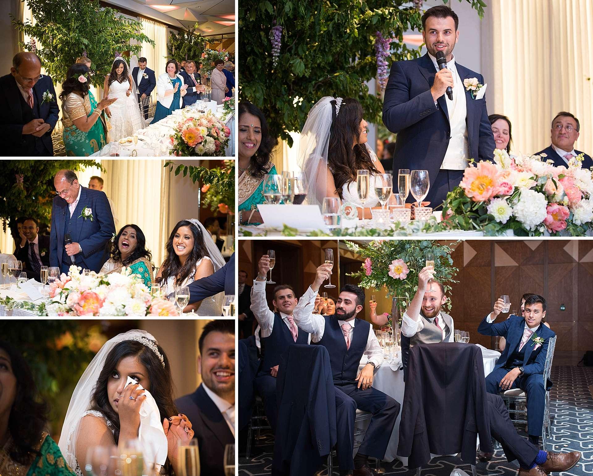 The Berkeley - wedding speeches