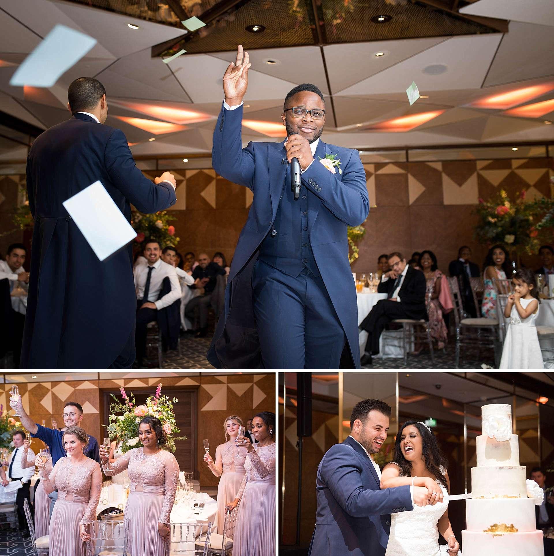 Niroosha and Matthew's wedding