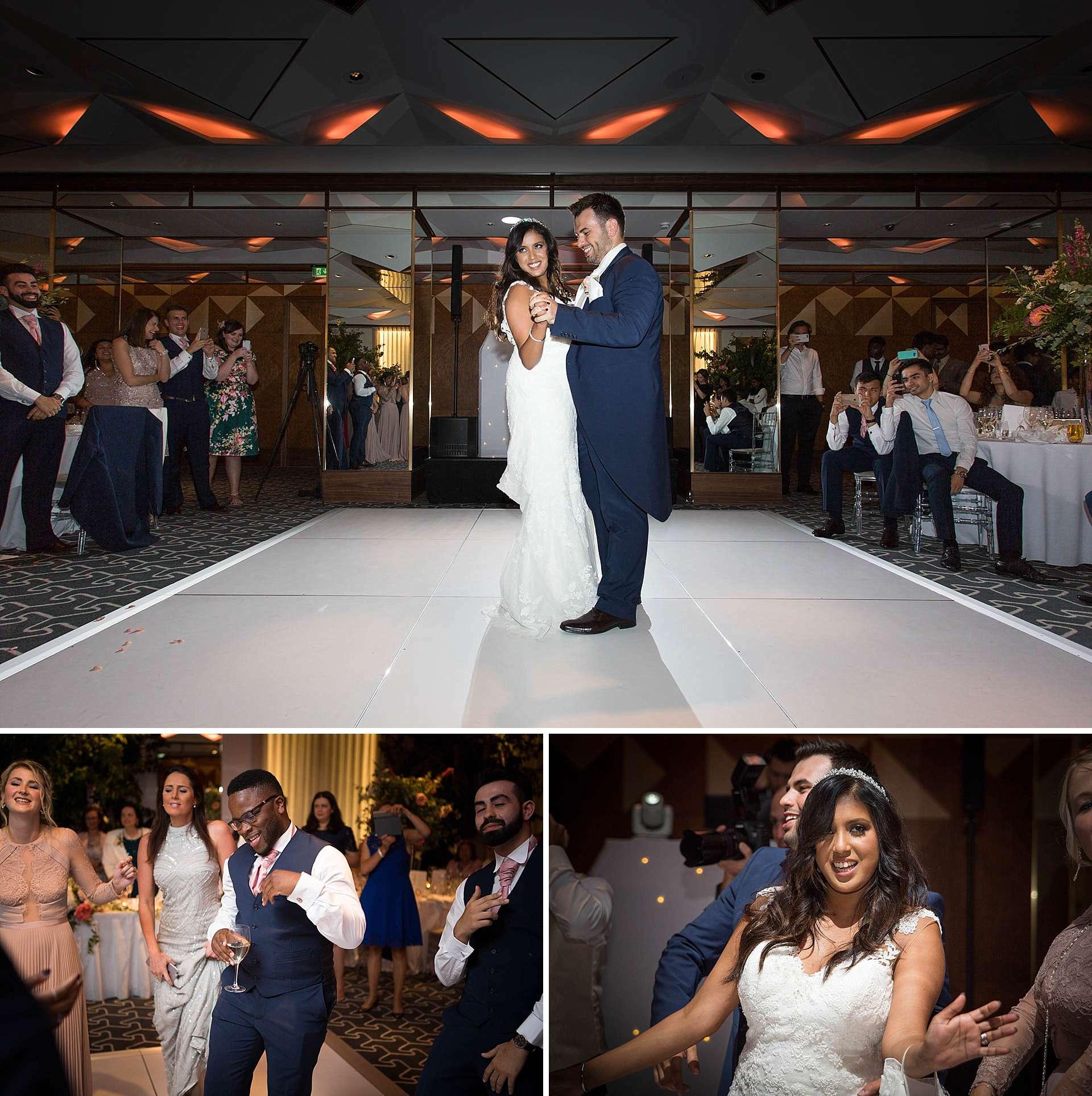 Wedding reception at The Berkeley