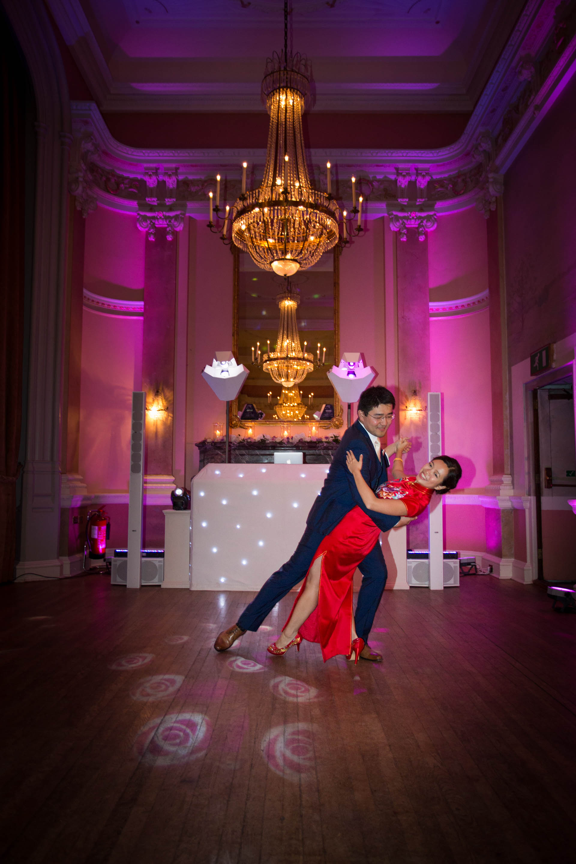 First dance in the Versailles Suite