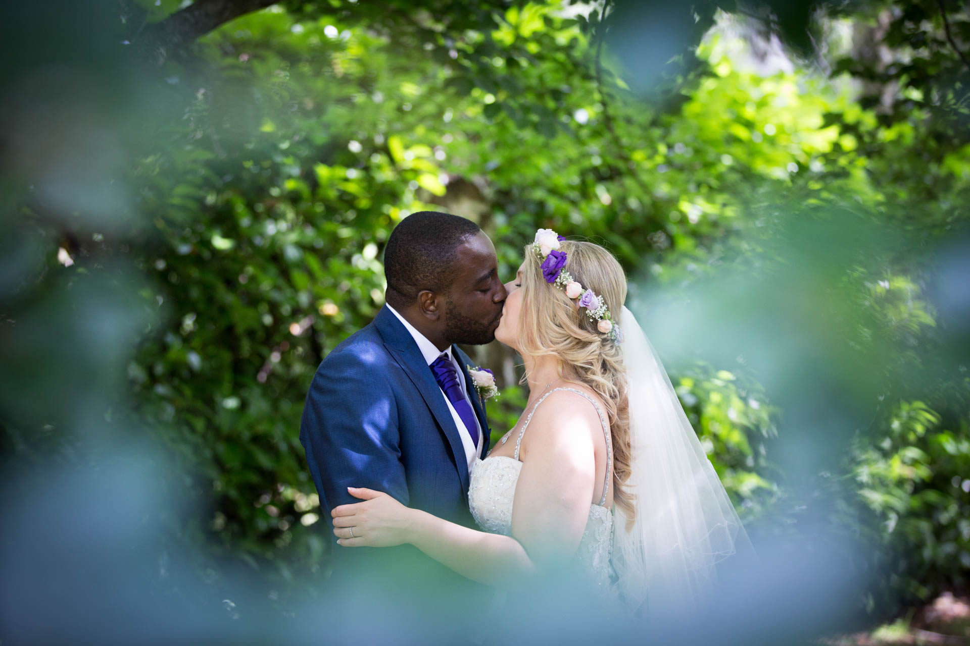 Rivervale Barn - bride and groom