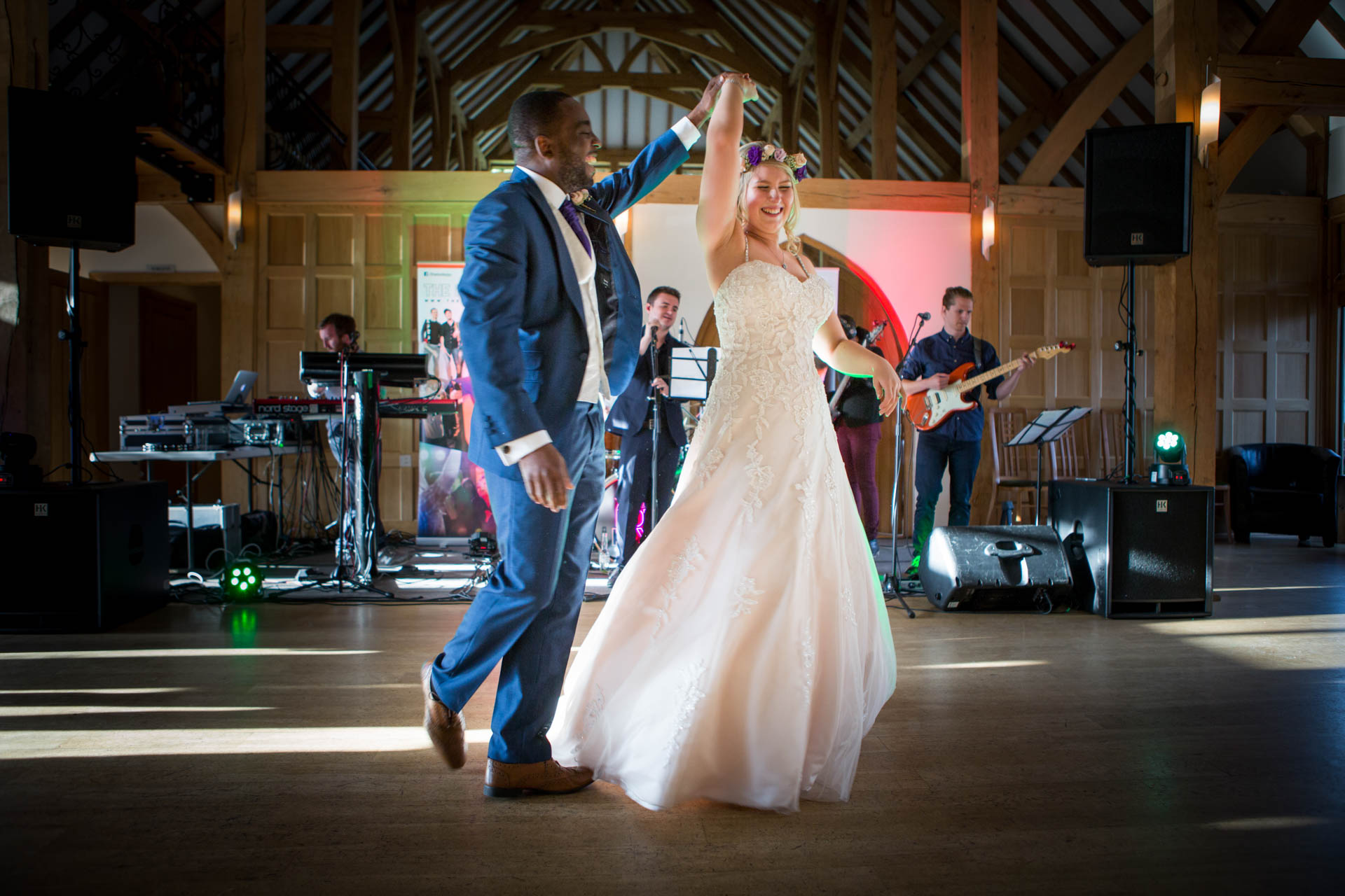 First dance at Rivervale Barn