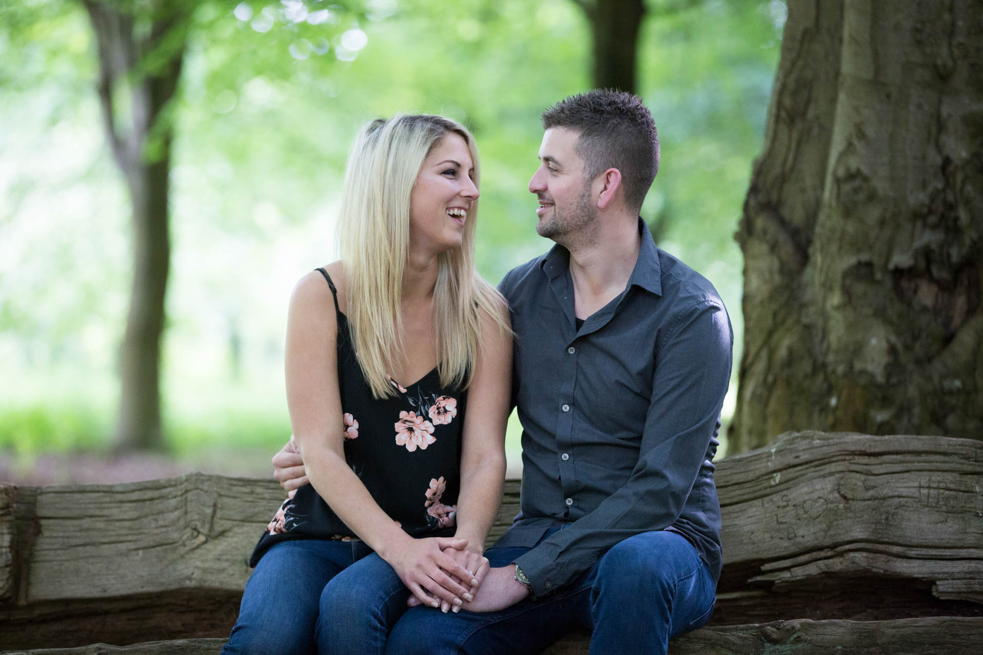 Windsor Great Park engagement shoot