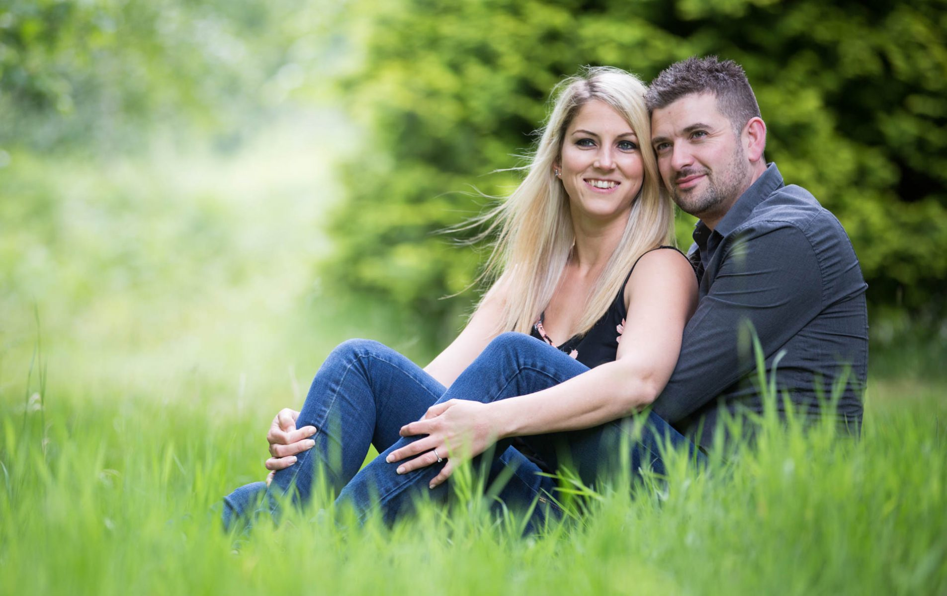 Sophie and Steve's Virginia Water Pre Wedding Shoot