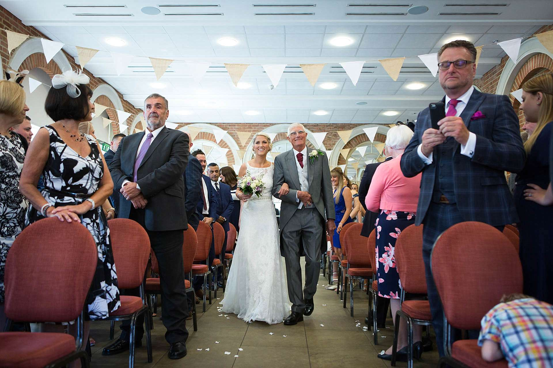 Great Fosters Wedding Photographer