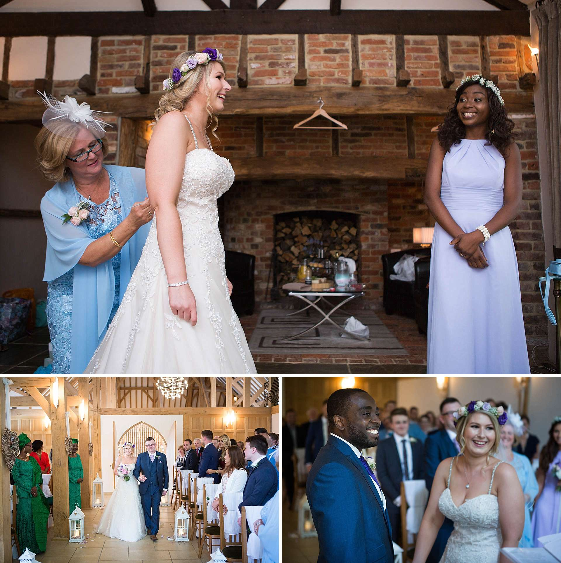 Berkshire documentary wedding photographer