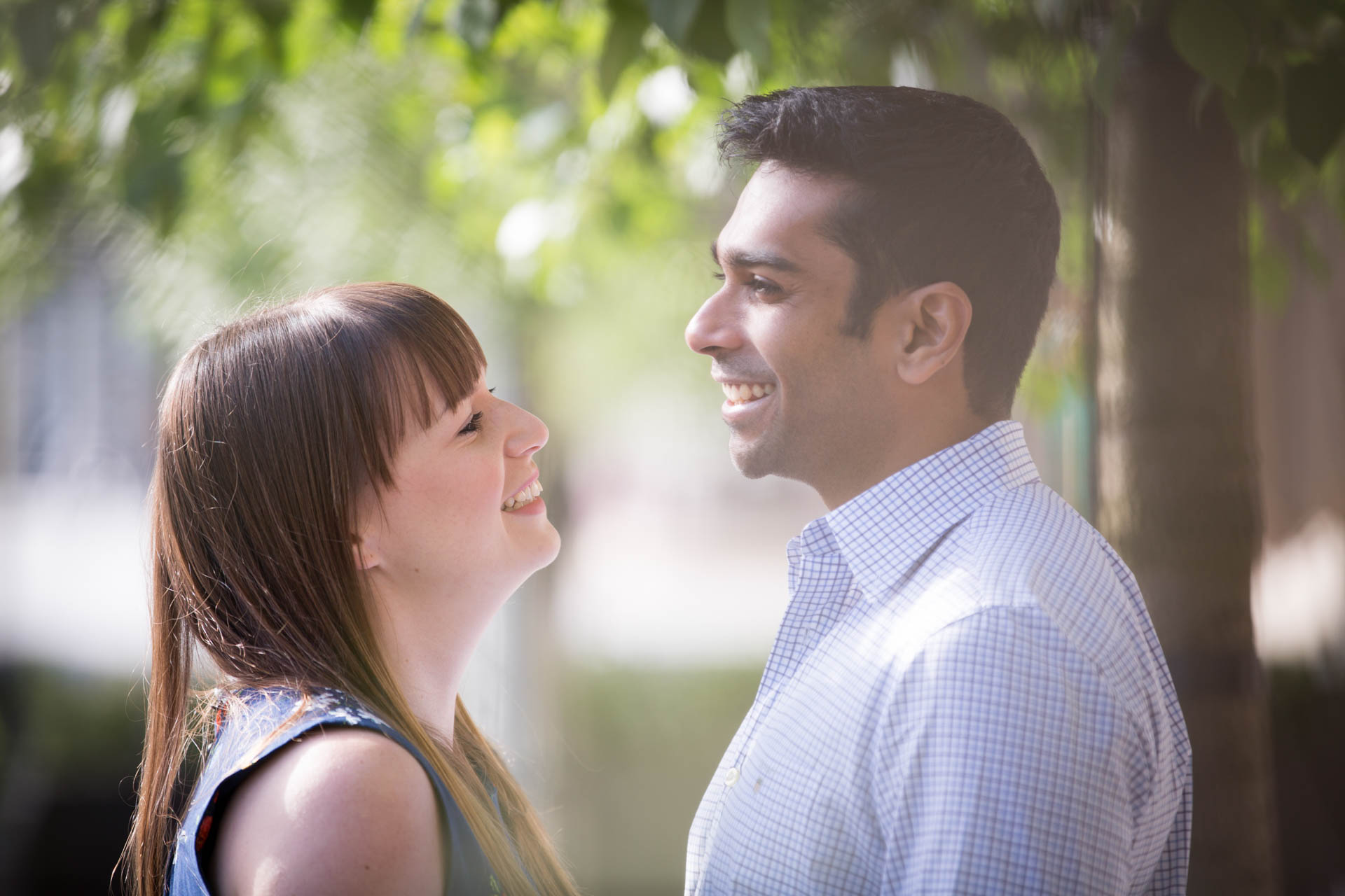 Charlotte and Niranjan