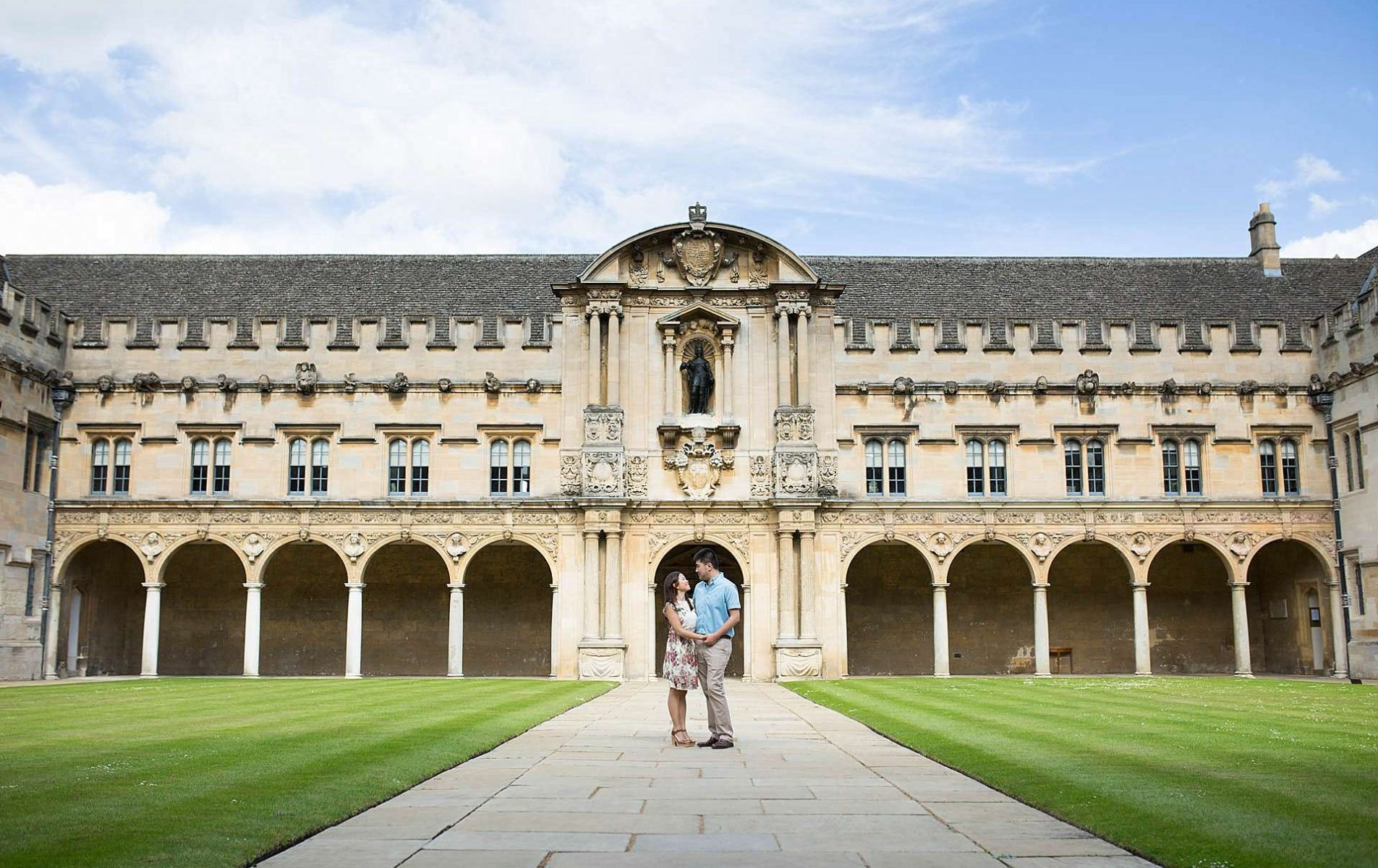 Oxford College Pre-Wedding Shoot