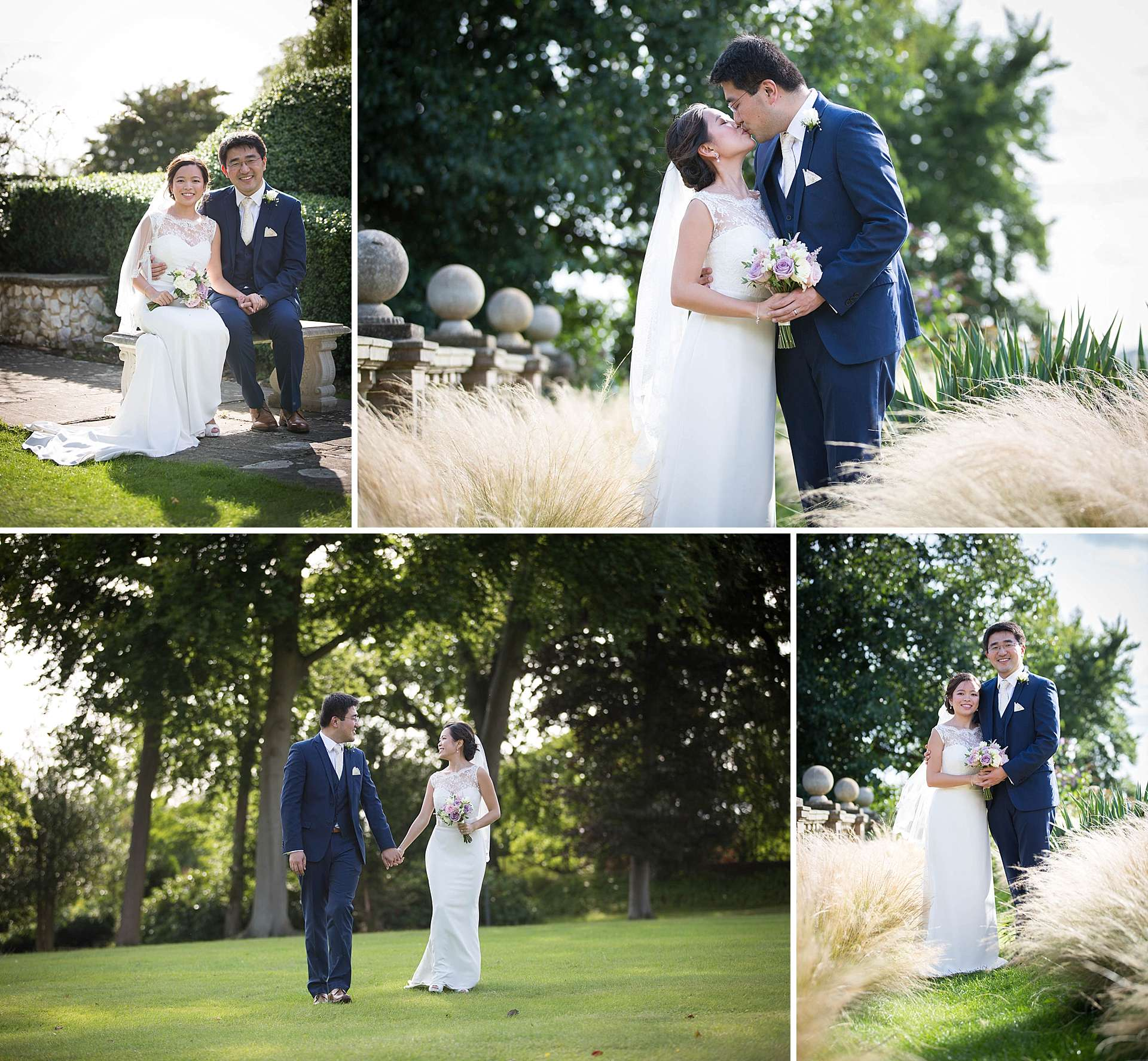 Wedding Portraits at Danesfield House