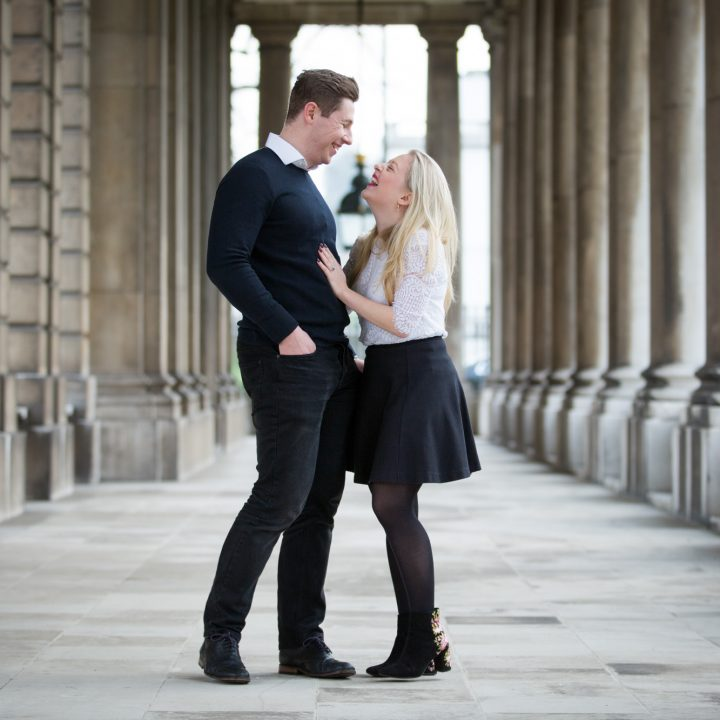 Greenwich Pre-Wedding Shoot - Emily and Callum