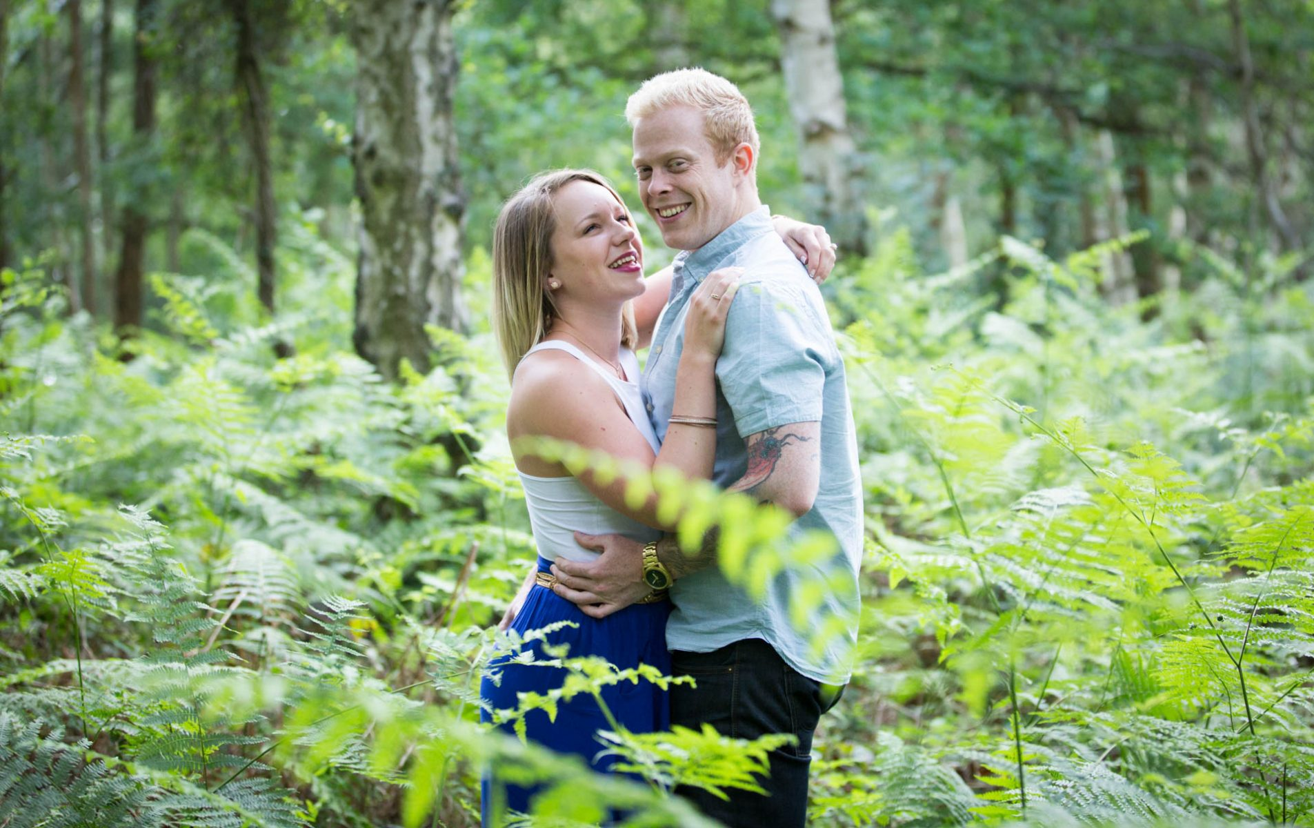 Tori and Laurence's Windsor Great Park Pre Wedding Shoot