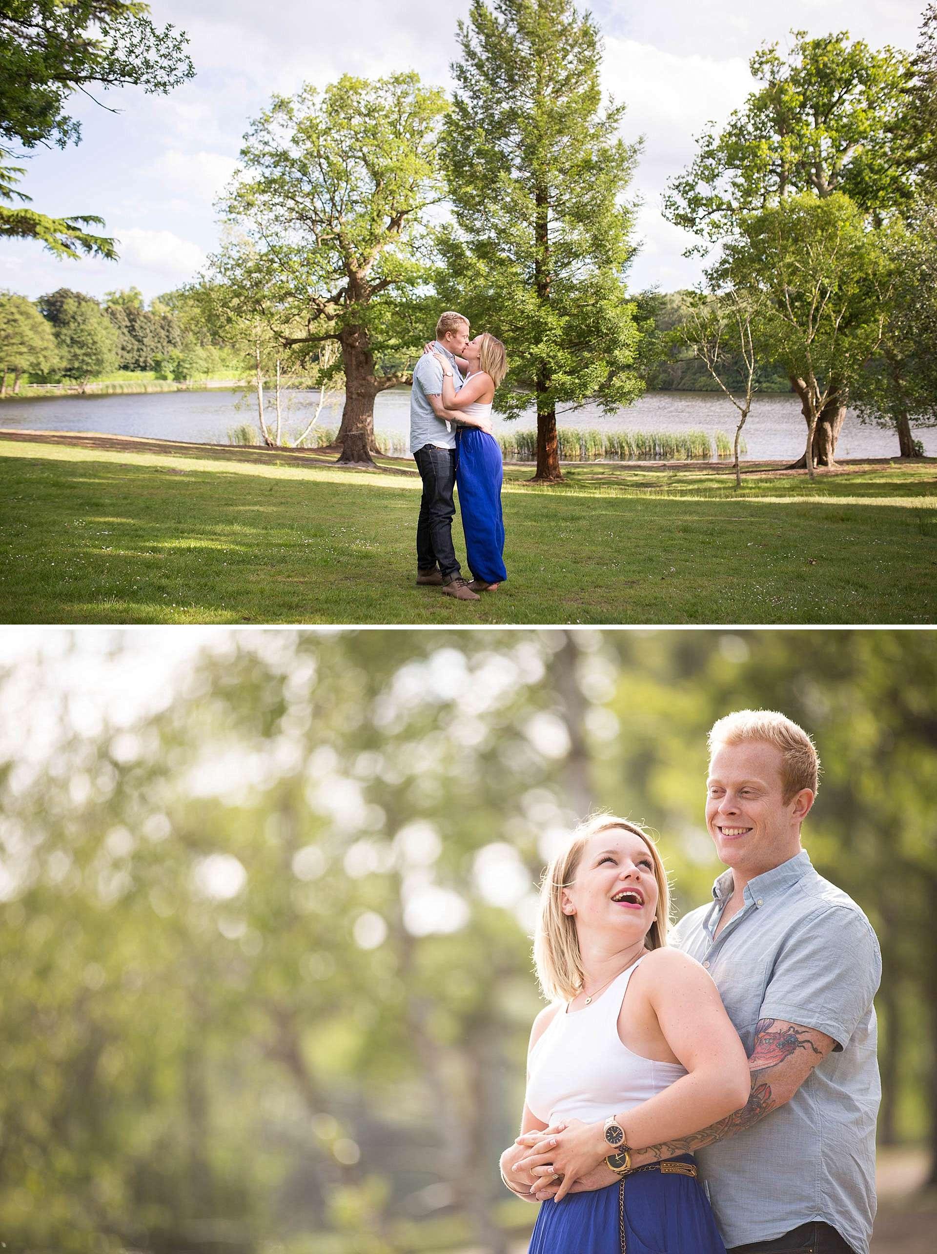Savill Garden Pre Wedding Shoot