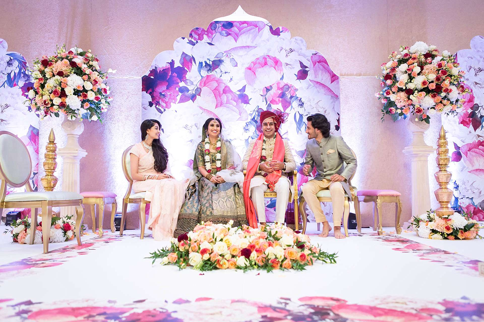 Sairah and Veer's Oshwal Centre Wedding