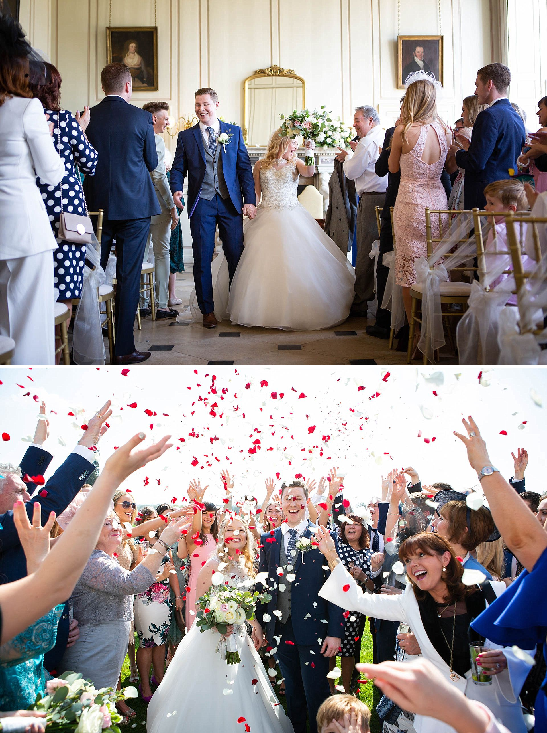 Gosfield Hall - just married