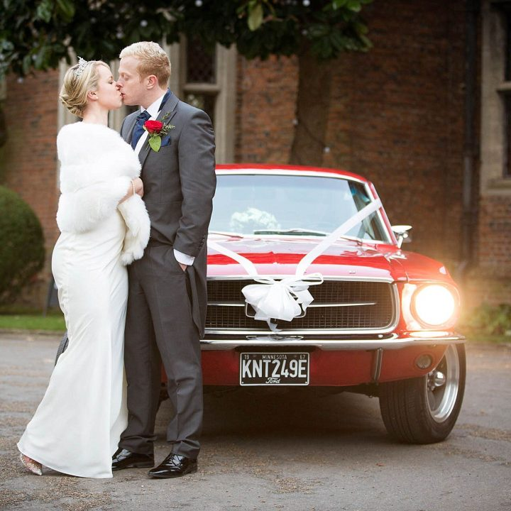 Tori and Laurence's Great Fosters Christmas Wedding