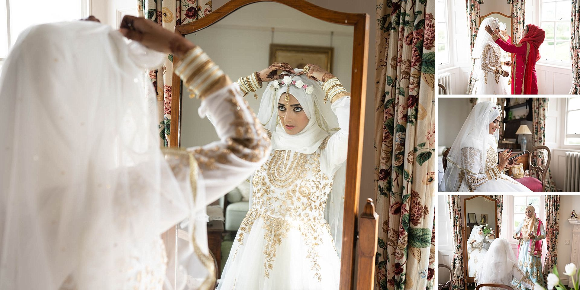 Poundon House Indian Wedding Photography