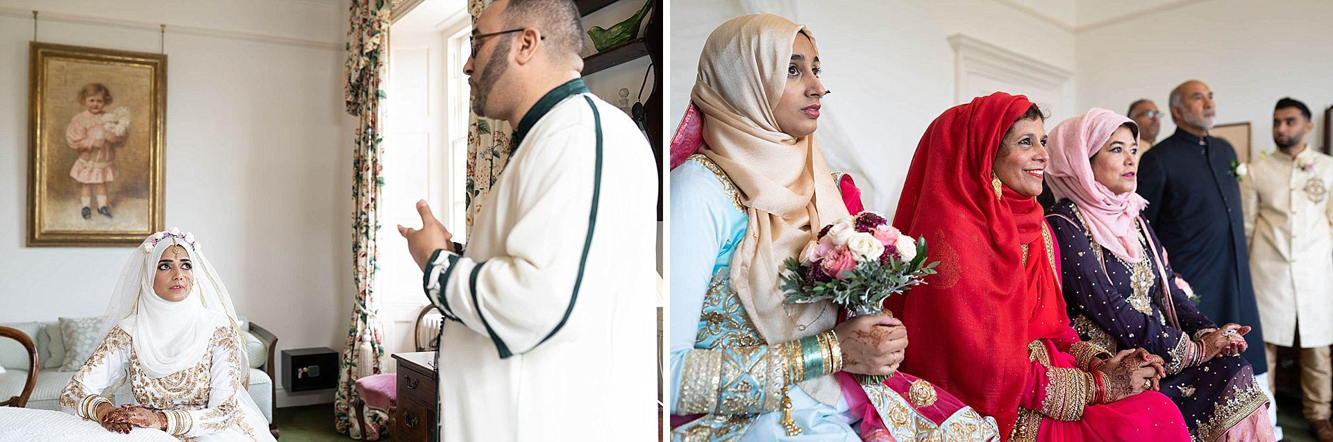Poundon House Muslim Wedding