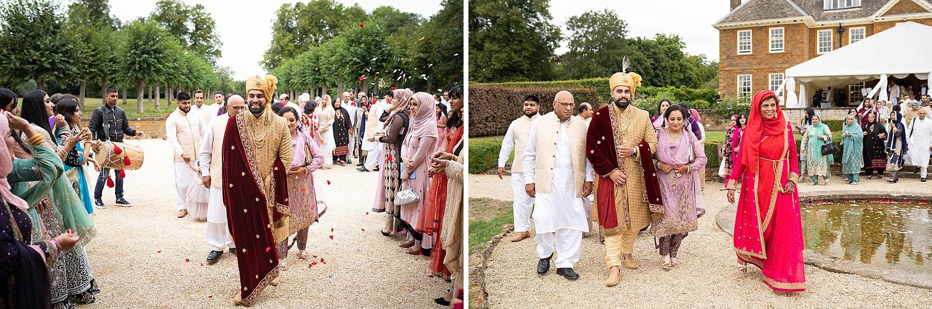 Poundon House Indian Muslim Wedding