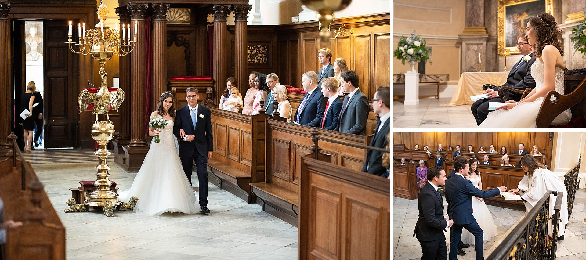 Queens College Chapel Wedding