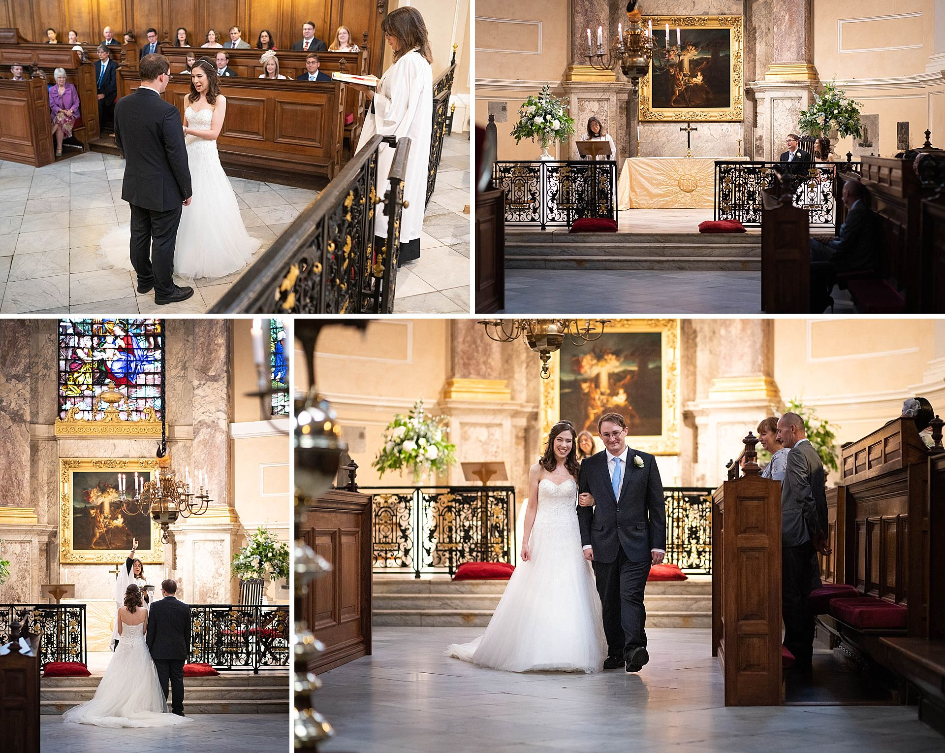 Queens College Oxford Wedding