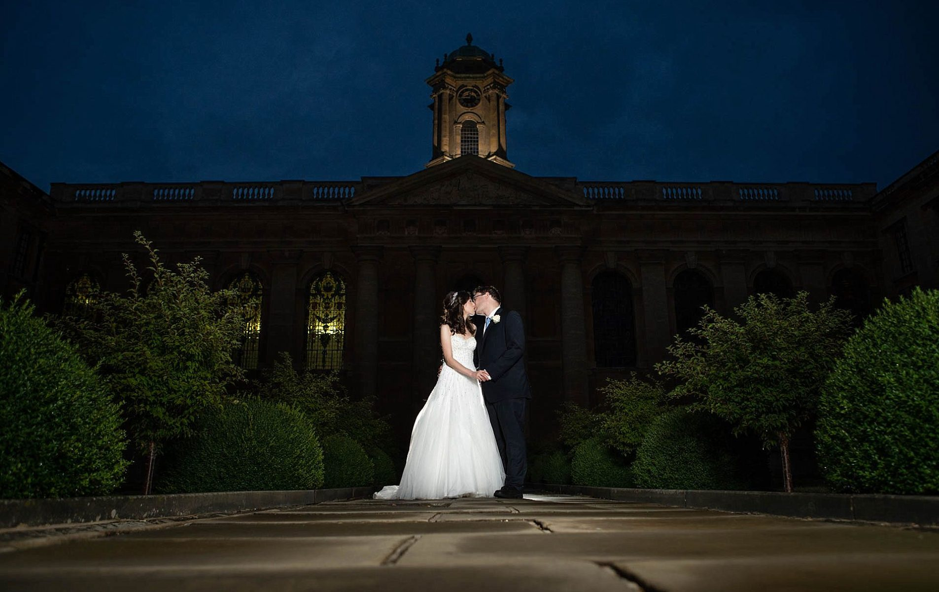 Queens College Wedding - Sophie and Roger