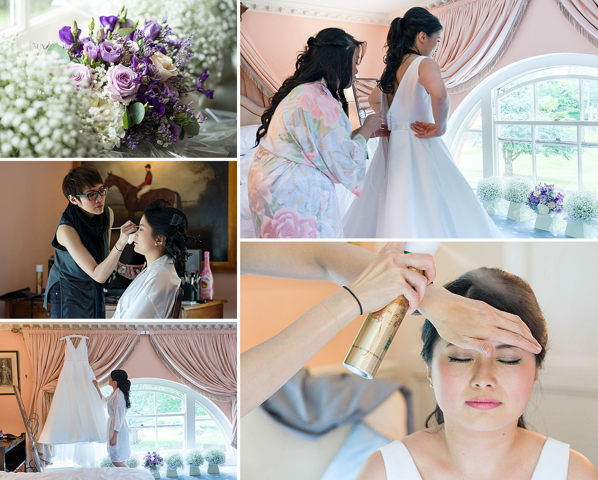 Brocket Hall Bridal Preparations