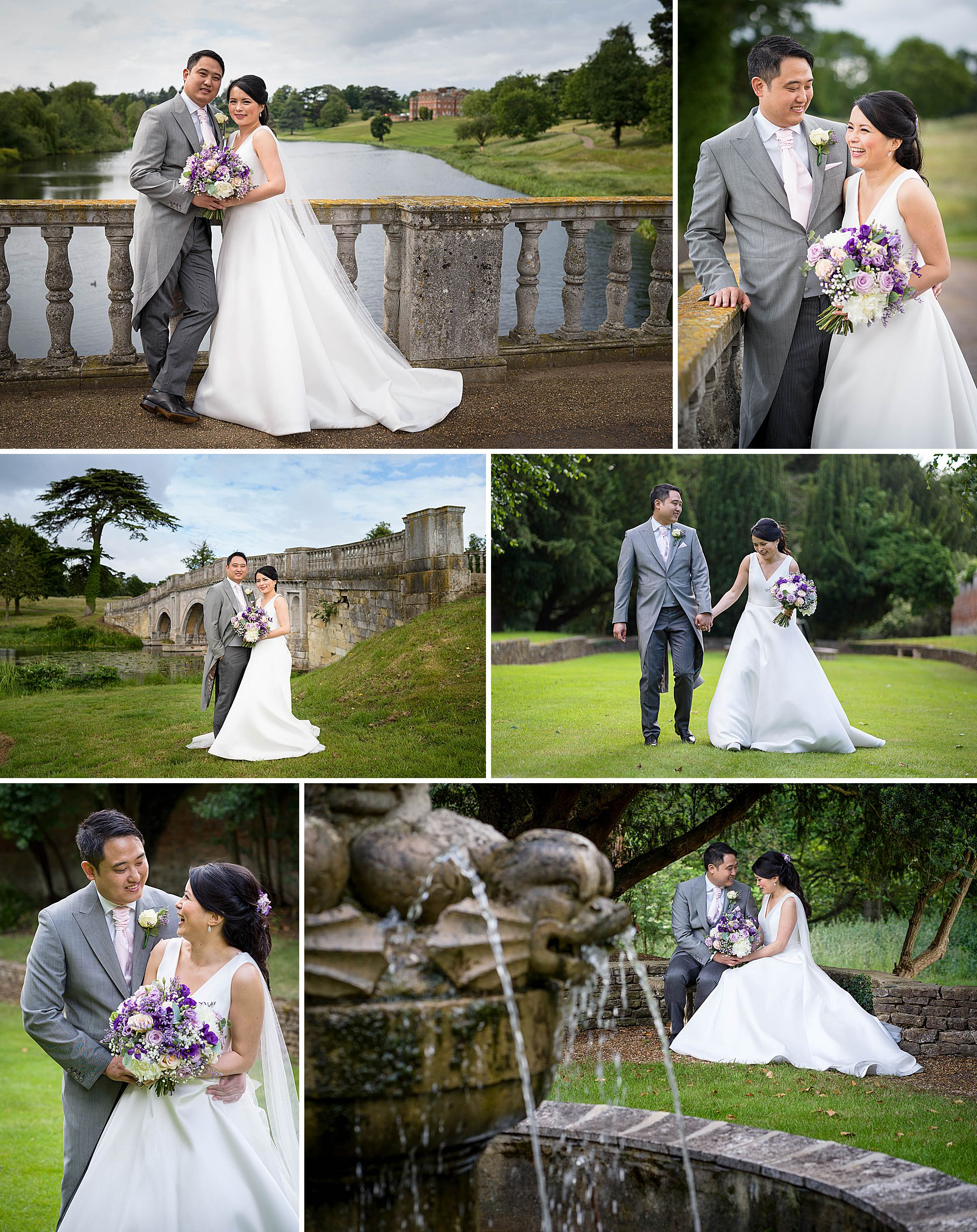 Brocket Hall Wedding Portraits