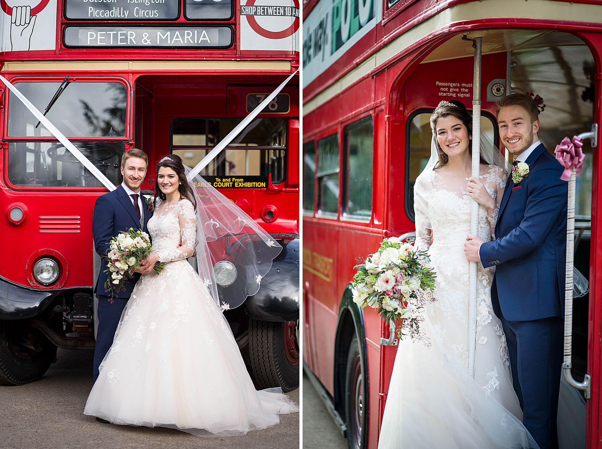 the wedding bus