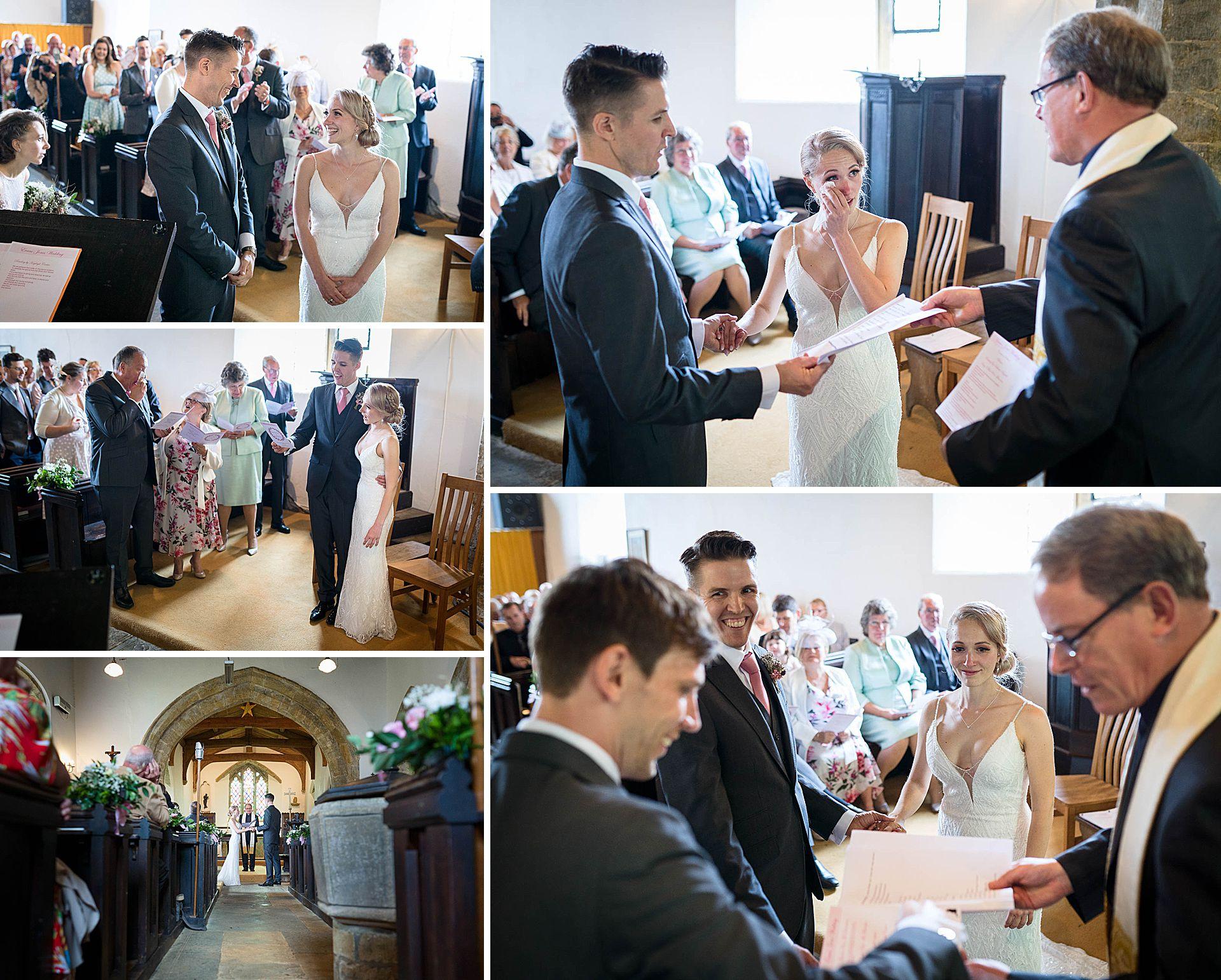 St Annes Church Epwell Wedding