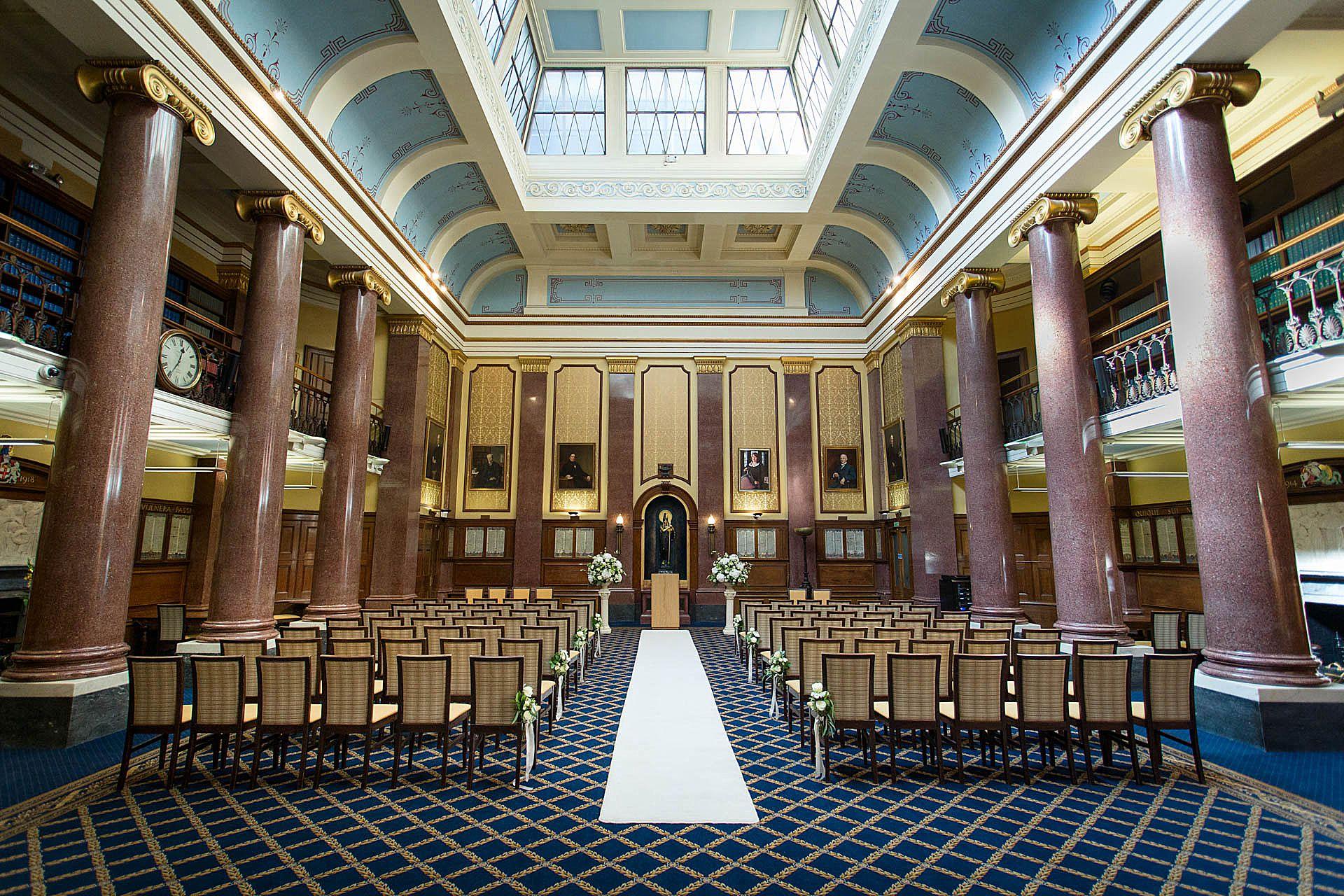 Law Society London Wedding